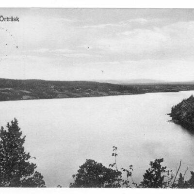 Parti av Örträsk Poststämplat 23/2 1916 Ägare: Åke Runnman 9x14