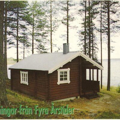 Hälsningar från Fyra Årstider Skickat 1999 Ägare: Åke Runnman 10x15