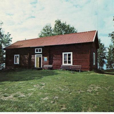 Örträsk, Hembygdsgården Ocirkulerat Foto: FOTOCENTRA, Lycksele Ägare: Ivar Söderlind 10x15