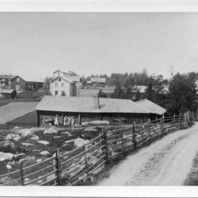 Kort från ca 1910.  Ägare: Bruno Dahlgren 9x14