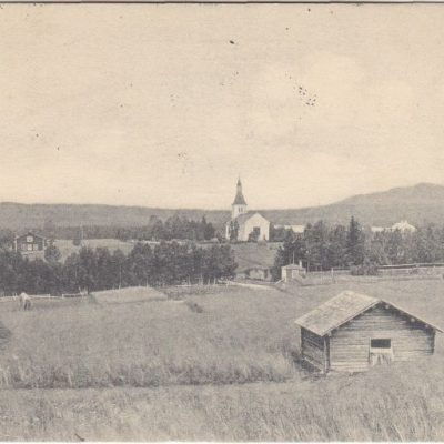 Bjurholm I. Hässler Poststämplat: 17/4 1908 Ägare: Åke Runnman 9x14