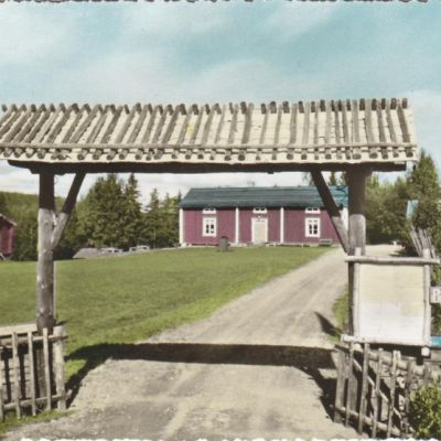 BJURHOLM. Hembygdsgården Förlag: Anderssons Bok- & Pappershandel, Bjurholm Ocirkulerat Ägare: Åke Runnman 10x15