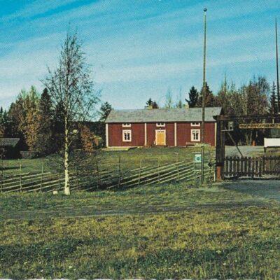 Bjurholm, Hembygdsgården Förlag: Anderssons Bok & Pappershandel Eftr., Bjurholm Ocirkulerat Ägare: Åke Runnman 10x15