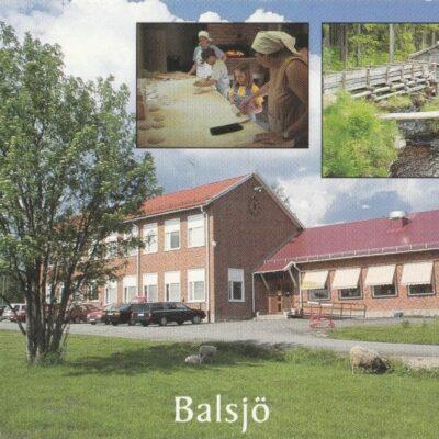 BALSJÖ, Balsjö kursgård arkivbild Poststämplat 28/11 2007 Ägare: Åke Runnman 10x15