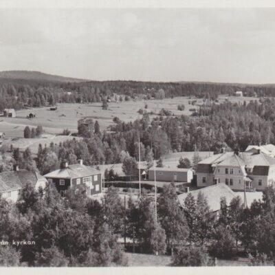 Bjurholm från kyrkan Förlag: Anderssons Pappershandel, Bjurholm Tel. 9 Ocirkulerat Ägare: Åke Runnman 9x14