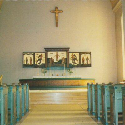 Bjurholms kyrka Förlag: Lilians Pappersh. & Servicebutik BjurholmOcirkuleratÄgare: Åke Runnman10x15
