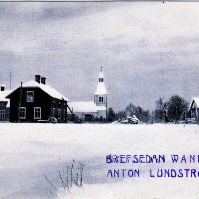 Bjurholm Poststämplat Bjurholm 11/2 1906 Ägare: Åke Runnman 9x14