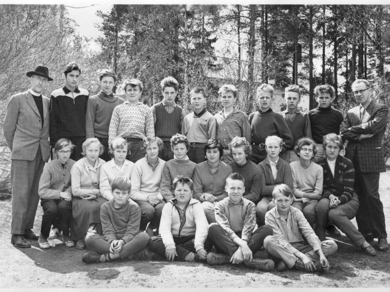 Avgångsklass 7 år 1959