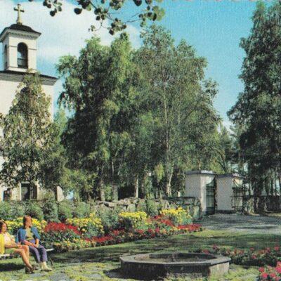Lycksele Kyrka Färgfoto: Giovanni Trimboli Ocirkulerat Ägare: Åke Runnman 10x15