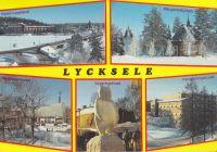 Lycksele Copyright: Grönlunds Foto, Skansholm, Vilhelmina Poststämplat 20/12 ???? Ägare: Åke Runnman 10x15