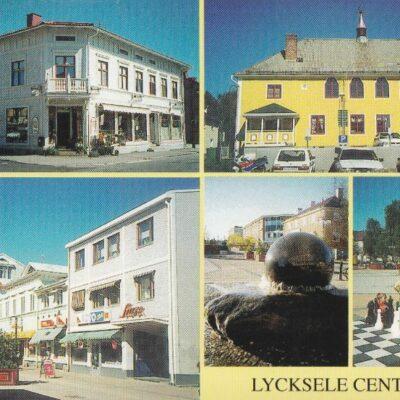 LYCKSELE CENTRUM Foto: Margareta Isaksson, Lycksele Nya Tryckeriet, Lycksele 2005 Poststämplat 20/6 2007 Ägare: Åke Runnman