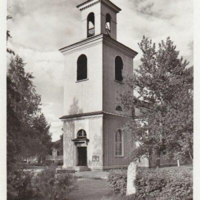 LYCKSELE. Kyrkan Pressbyrån 60451 Poststämplat Lappmarken visar 16/7 1949 Ägare: Åke Runnman 9x14