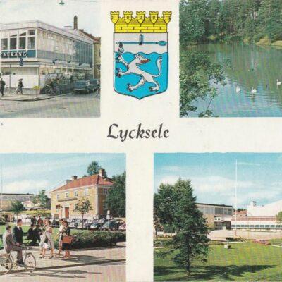 Lycksele Copyright: Herman Grönlund, Skansholm Poststämplat 12/8 1964 Ägare: Åke Runnman 10x15