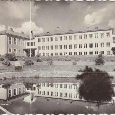 LYCKSELE. Läroverket Pressbyrån Poststämplat 23/5 1958 Ägare: Åke Runnman 10x15