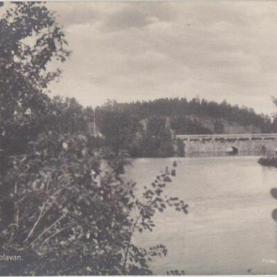 Lycksele. Djupskolavan Förlag: Bodéns Bokhandel Lycksele Poststämplat 19/9 1928 Ägare: Åke Runnman 9x14