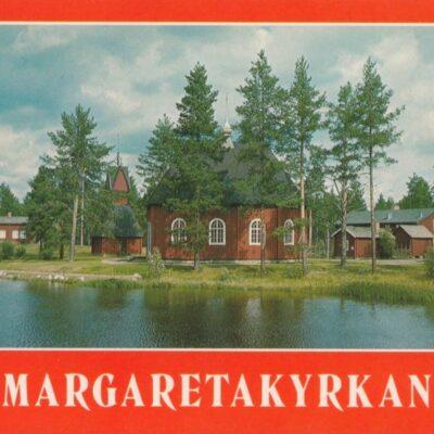 Margaretakyrkan Foto: FOTOCENTRA, Lycksele Ocirkulerat Ägare: Åke Runnman 10x15