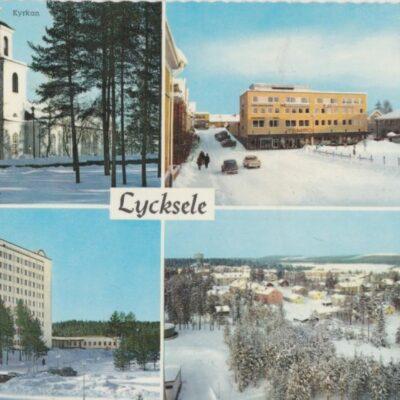 Lycksele Förlag: Frösötornet. Foto & Copyright: T. Wahlstedt Ocirkulerat Ägare: Åke Runnman 10x15