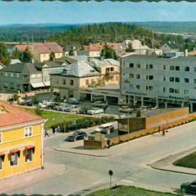 Lycksele. Centrum AB GRAFISK KONST Ocirkulerat Ägare: Åke Runnman 10x15