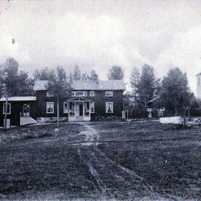 Wiska gästgiveri Poststämplat 26/3 1908 Ägare: Åke Runnman