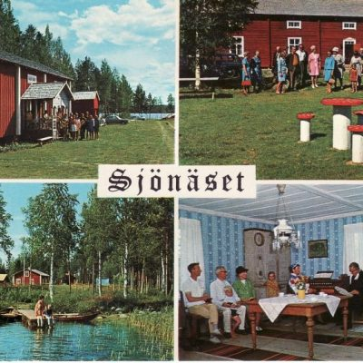 Sjönäset. Fritidsanläggning. Fredrika Ocirkulerat Copyright: Grönlunds Foto, Skansholm, Vilhelmina Ägare: Åke Runnman