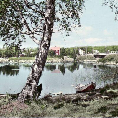 Fredrika. Sundbron Poststämplat 14/7 1966 Ägare: Åke Runnman