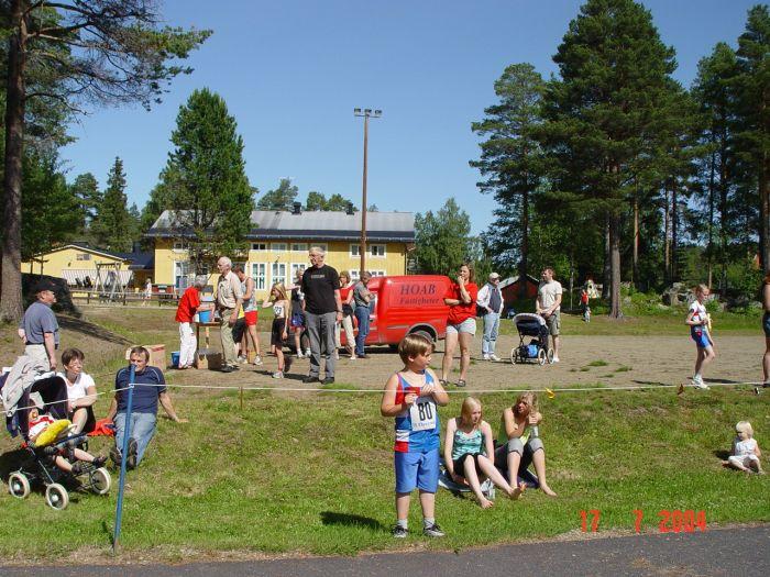 Publikbild från Örträsksjön Runt den 17 juli.  (Foto: Agneta Höglund)