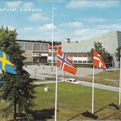 Medborgarhuset, Lycksele Copyright: Herman Grönlund, Skansholm Ocirkulerat Ägare: Åke Runnman 10x15
