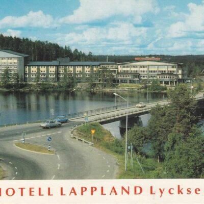 Hotell Lappland Lycksele Copyright: Grönlunds Foto, Skansholm, Vilhelmina Poststämpel oläslig Ägare: Åke Runnman 10x15