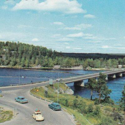 Lycksele. Stora bron Färgfoto: Giovanni Trimboli Ocirkulerat Ägare: Åke Runnman 10x15