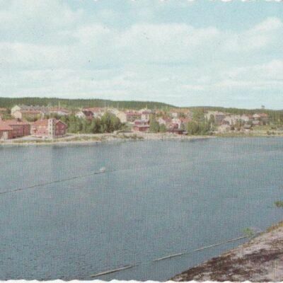 Lycksele. Umeälven Pressbyrån Poststämplat 22/4 1959 Ägare: Åke Runnman 10x15