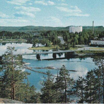 Umeälven vid Lycksele Copyright: Grönlunds Foto. Skansholm Ocirkulerat Ägare: Åke Runnman 10x15
