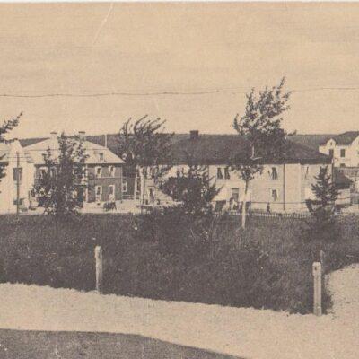 Lycksele GUST. S. BODÉNS BOK- & PAPPERSHANDEL Skrivet 29/3 1920 Ägare: Åke Runnman 9x14