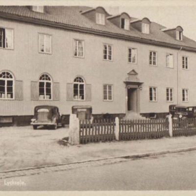 Stora Hotellet, Lycksele Svensk tillverkning 38320 Ocirkulerat Ägare: Åke Runnman 9x14