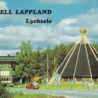Hotell Lappland, Lycksele Copyright: Grönlunds Foto, Skansholm, Vilhelmina Poststämplat 5/7 1988 Ägare: Åke Runnman 10x15