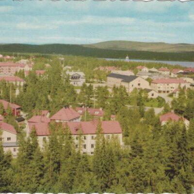 Lycksele Pressbyrån Poststämplat 30/9 1963 Ägare: Åke Runnman 10x15