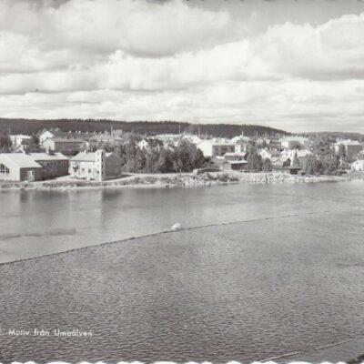 LYCKSELE. Motiv från Umeälven Pressbyrån 22489 Ocirkulerat Ägare: Åke Runnman 10x15
