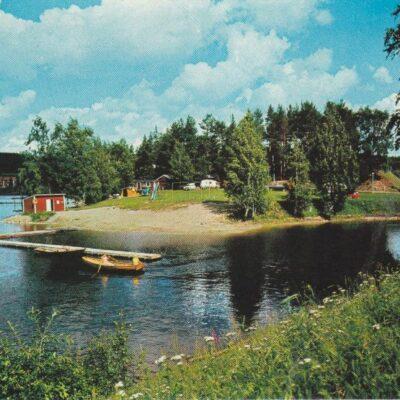 Högkammens Camping, Granö Foto: Fotocentra - Lycksele Ocirkulerat Ägare: Åke Runnman 10x15