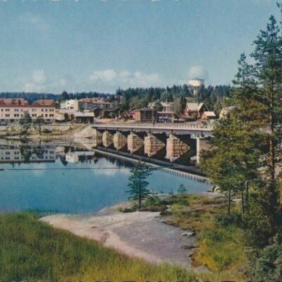 Lycksele. Stora bron AB Grafisk konst Ocirkulerat Ägare: Åke Runnman 10x15