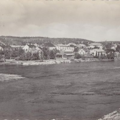 LYCKSELE Pressbyrån 2247 Poststämplat 15/7 1958 Ägare: Åke Runnman 10x15