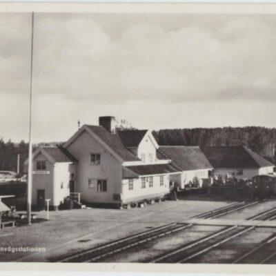 LYCKSELE. Järnvägsstation Pressbyrån 60328 Daterat 23/7 och plundrat Ägare: Åke Runnman 9x14