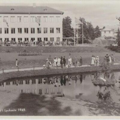 Utställningen i Lycksele 1949 Ensamrätt: Utställningsfoto AB., Gbg Ocirkulerat Ägare: Åke Runnman 9x14