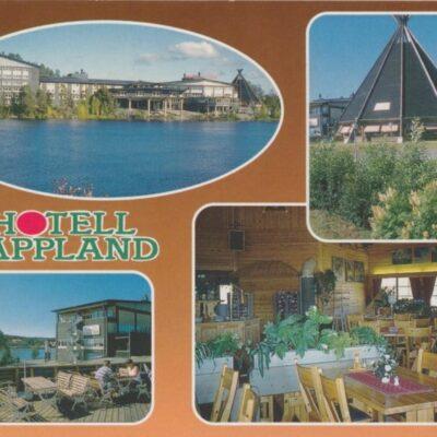 Hotell Lappland Foto: Gurli Utas o Lars Viklund, Östersund Poststämplad 24/4 1999 Ägare: Åke Runnman 10x15
