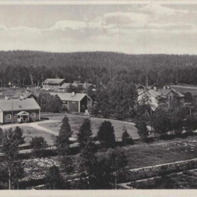 Lycksele Förlag: Gust. S. Bodéns Bokhandel Lycksele Poststämplat 26/2 1931 Ägare: Åke Runnman 9x14