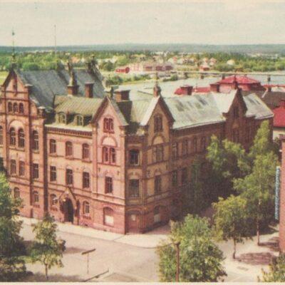 Umeå. Stora Hotellet PressbyrånPoststämplat 1958-07-21Ägare: Ivar Söderlind9x14