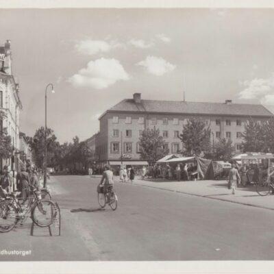 Umeå. Rådhustorget Ocirkulerat Ägare: Ivar Söderlind 10x15