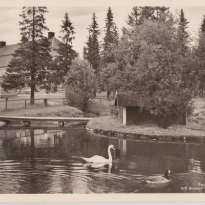 Umeå. Gammlia Förlag: Reinh. Hjortsbergs Pappershandel, Umeå Poststämplat 1956-07-21 Ägare: Ivar Söderlind 9x14