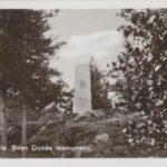 Sven Duvas monument