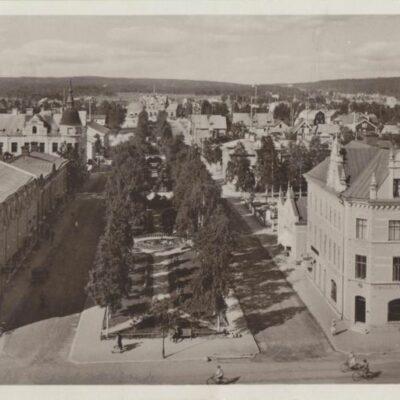 UMEÅ Förlag: Hildur Fjellströms Pappershandel. Umeå Plundrat. Skrivet 1907-07-13 Ägare: Ivar Söderlind 9x14