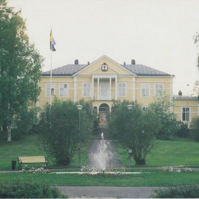 Tingshuset, Lycksele Foto: Sten Troberg Poststämplat 22/11 2005 Ägare: Åke Runnman 10x15