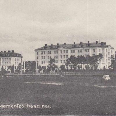 Kungl. Västerbotten Regementes kaserner Ägare: Ivar Söderlind 18x8